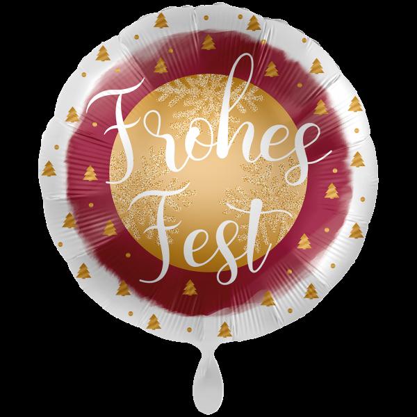 1 Ballon XXL - Frohes Fest