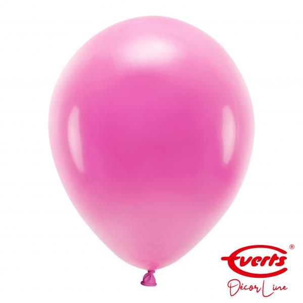 50 Luftballons - DECOR - Ø 35cm - Pearl & Metallic - Hot Pink