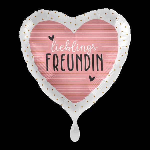 1 Ballon - Lieblingsfreundin