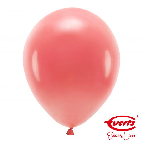 50 Luftballons - DECOR - Ø 35cm - Crystal - Apple Red