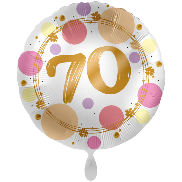 1 Ballon XXL - Shiny Dots 70