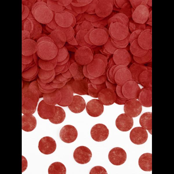 15g Papierkonfetti - Rot