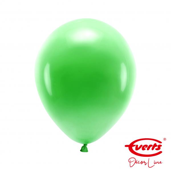 50 Luftballons - DECOR - Ø 28cm - Pearl & Metallic - Festive Green