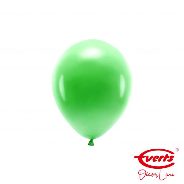100 Miniballons - DECOR - Ø 13cm - Pearl & Metallic - Festive Green