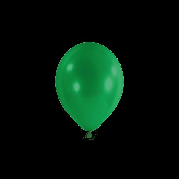 100 Miniballons - Ø 12cm - Grün