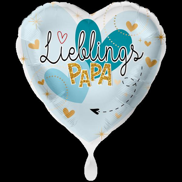 1 Ballon XXL - Lieblingspapa