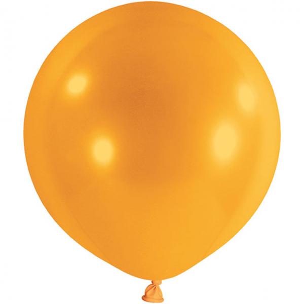 1 Riesenballon - Ø 1m - Orange