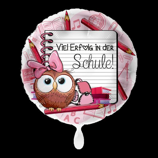 1 Ballon - Viel Erfolg in der Schule Mädchen