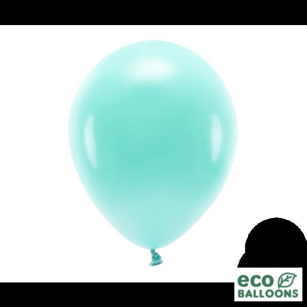 10 ECO-Luftballons - Ø 30cm - Dark Mint