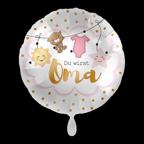 1 Ballon - Du wirst Oma