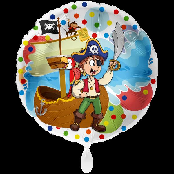 1 Ballon XXL - Pirat