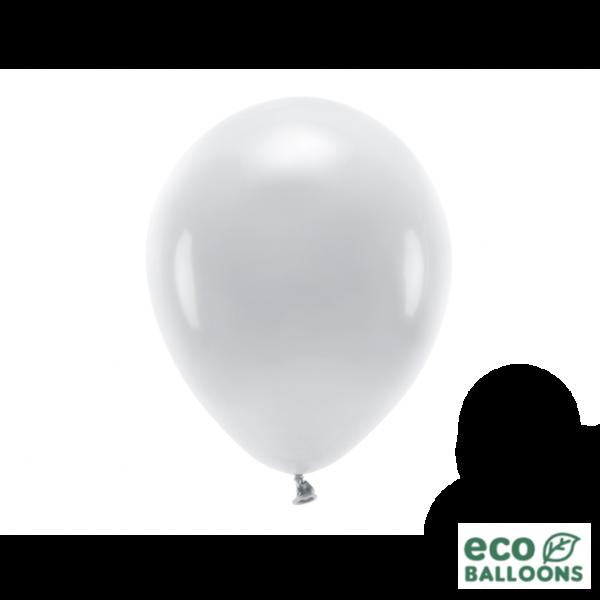 10 ECO-Luftballons - Ø 26cm - Grey