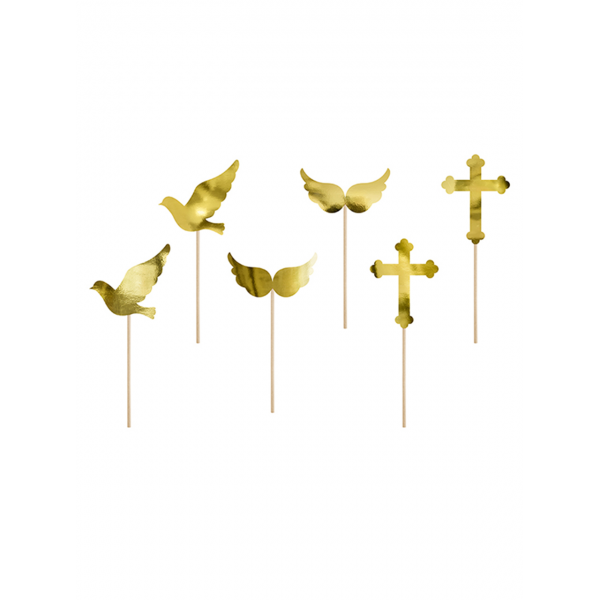 6 Cake Topper - Communion