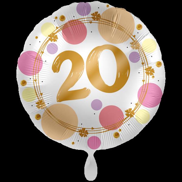 1 Ballon XXL - Shiny Dots 20