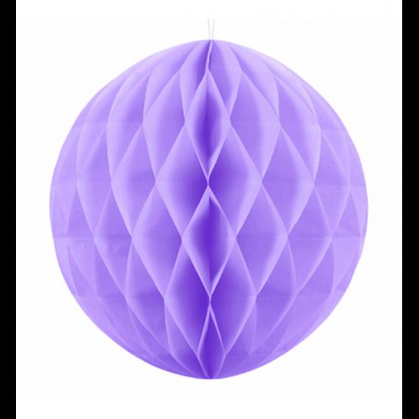 1 Wabenball XXL - Ø 30cm - Lavendel