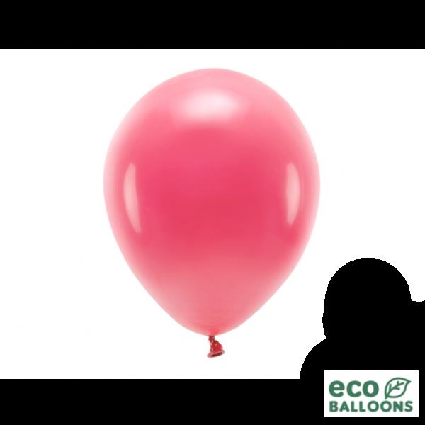10 ECO-Luftballons - Ø 26cm - Light Red