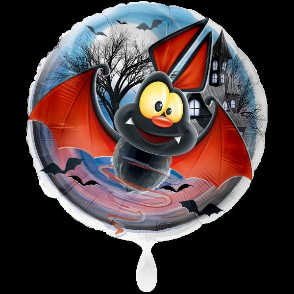 1 Ballon XXL - Fledermaus