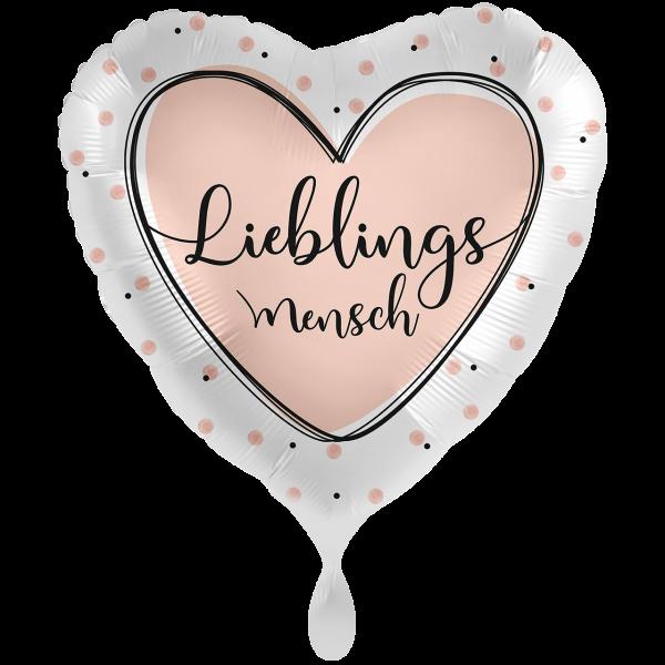 1 Ballon XXL - Lieblingsmensch