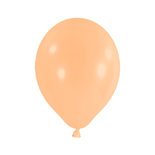 50 Luftballons - Ø 30cm - Pastell - Pfirsich
