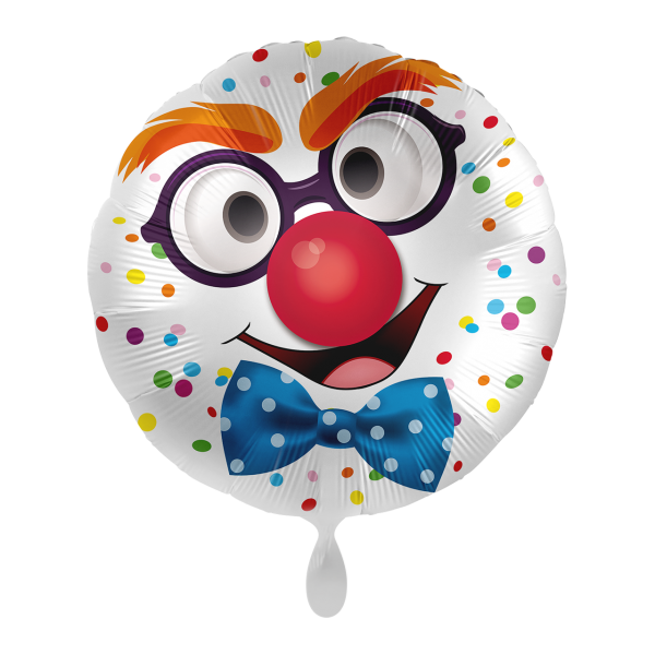 1 Ballon - Happy Clown