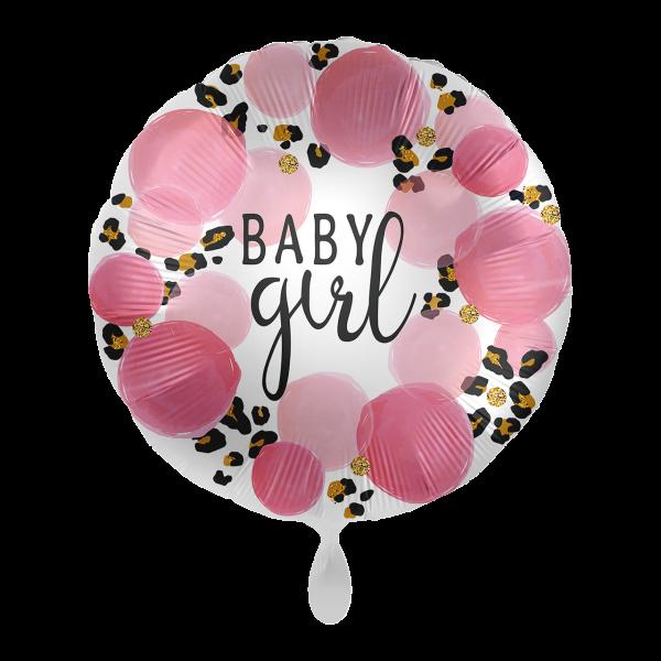 1 Ballon - Baby Girl Leopard