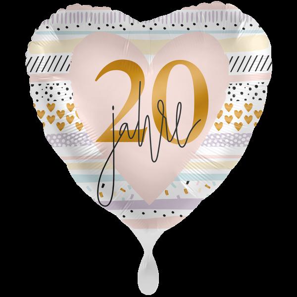1 Ballon XXL - Creamy Blush 20