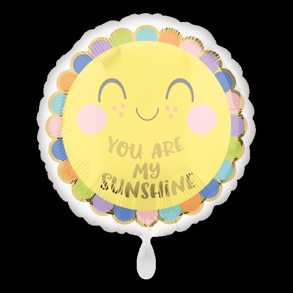 1 Ballon - Sweet Baby Sunshine
