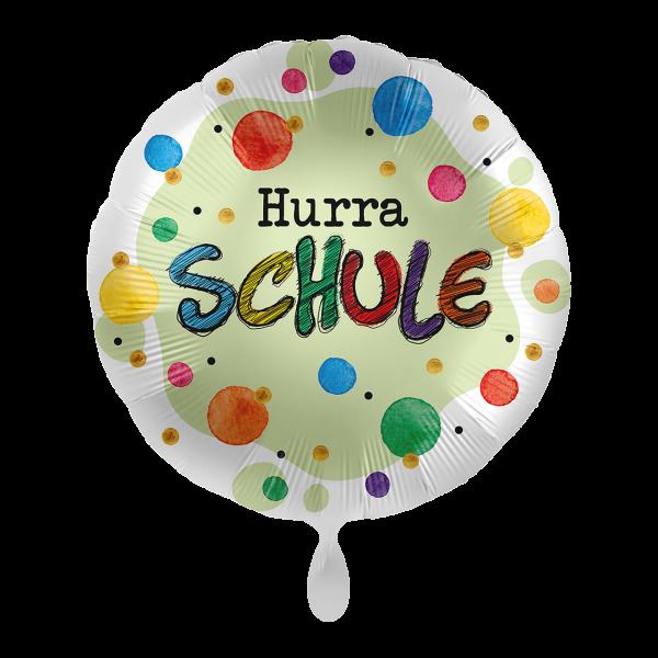1 Ballon - Hurra Schule