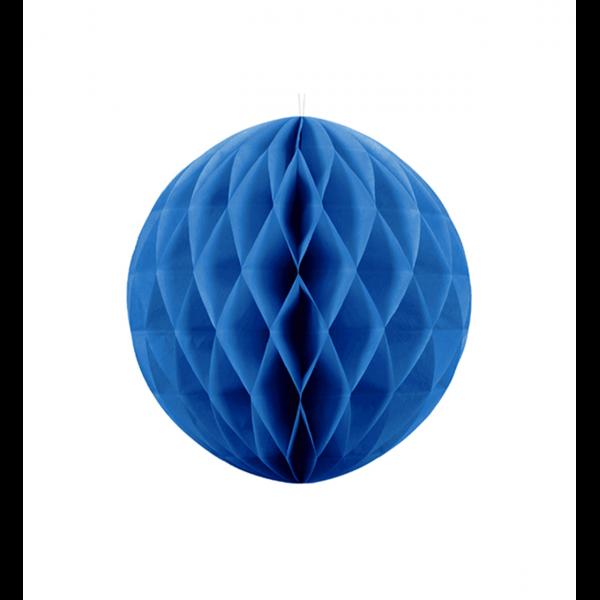 1 Wabenball XL - Ø 20cm - Blau