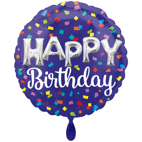 1 Ballon XXL - HBD Balloon Letters