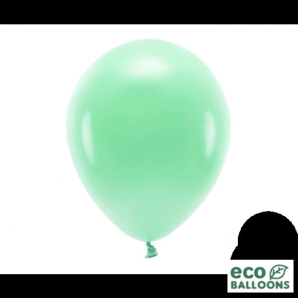 100 ECO-Luftballons - Ø 30cm - Mint