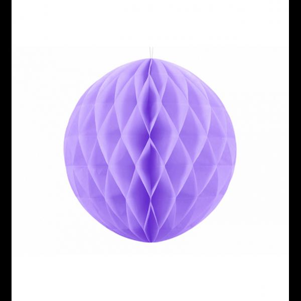 1 Wabenball XL - Ø 20cm - Lavendel