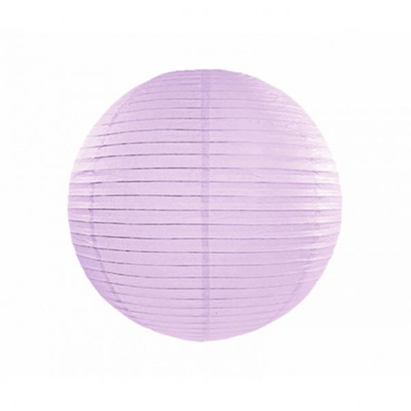 1 Lampion XL - Ø 35cm - Lavendel