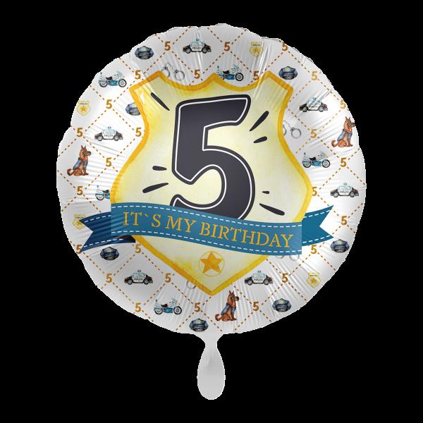 1 Ballon - Police Academy - Fünf
