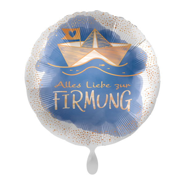 1 Ballon - Firmung Sailing Ship