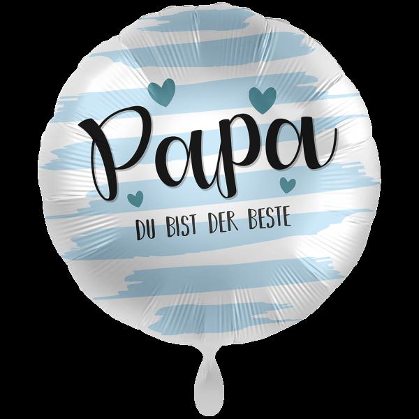 1 Ballon XXL- Papa Du bist der Beste