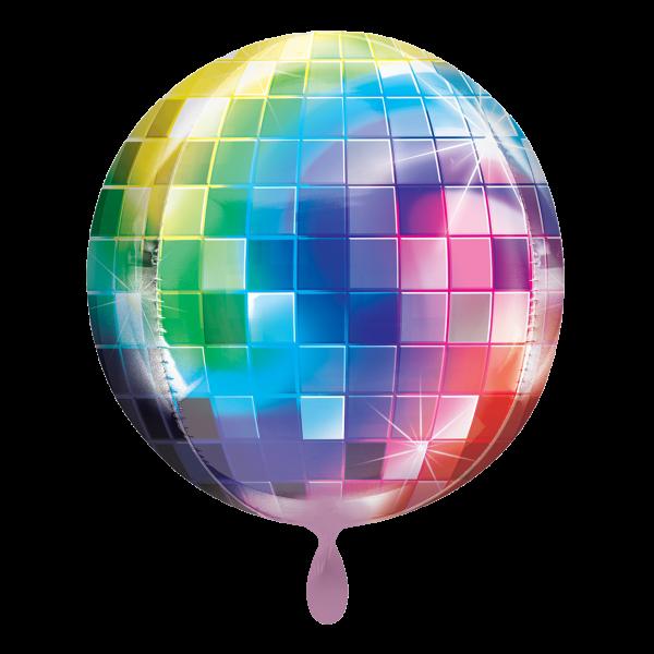 1 Ballon - Orbz - Disco Ball