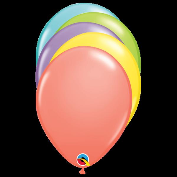 100 Luftballons - Ø 27cm - Sorbet Mix
