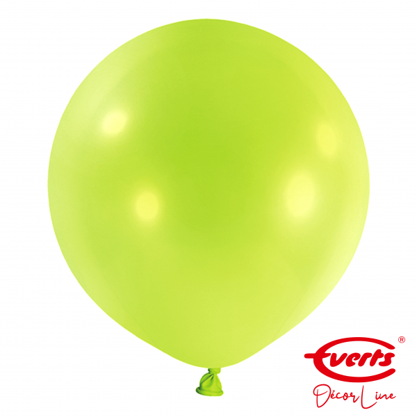 4 Riesenballons - DECOR - Ø 60cm - Kiwi