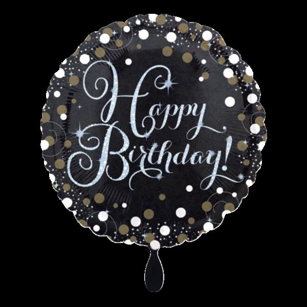 1 Ballon - Sparkling Birthday