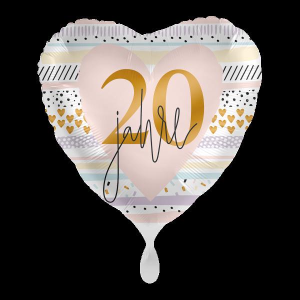 1 Ballon - Creamy Blush 20