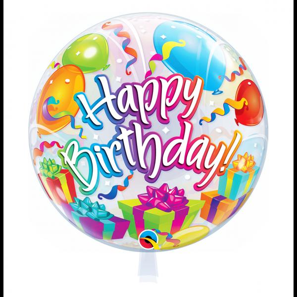 1 Bubble Ballon - Birthday Surprise