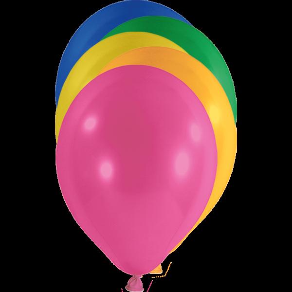 100 Luftballons - Ø 30cm - Bunt
