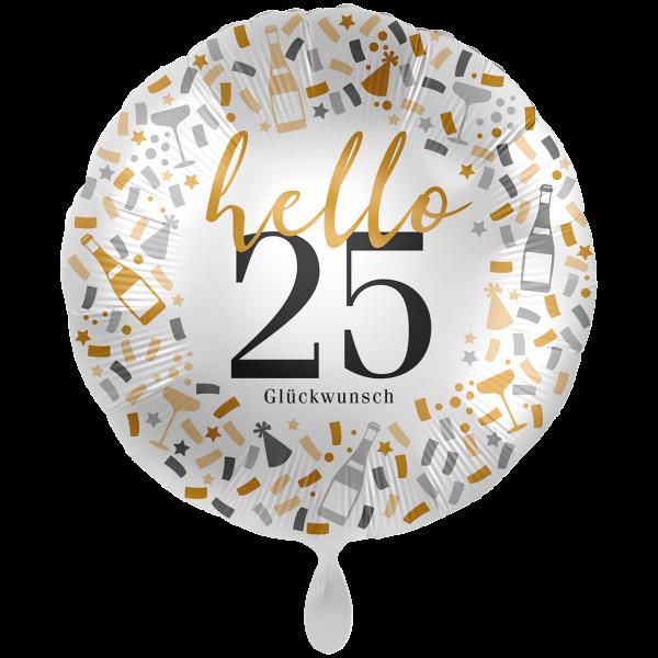 1 Ballon XXL - Hello 25