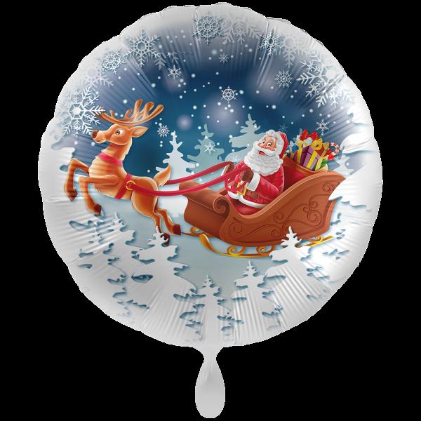 1 Ballon XXL - Santa is Comming