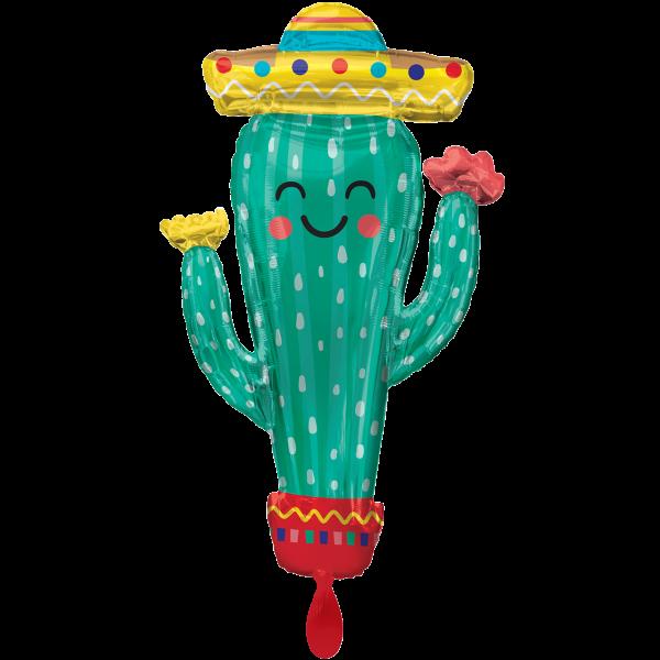 1 Ballon XXL - Fiesta Cactus