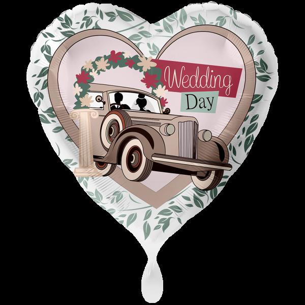 1 Ballon XXL - Wedding Day