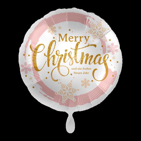 1 Ballon - Merry Christmas