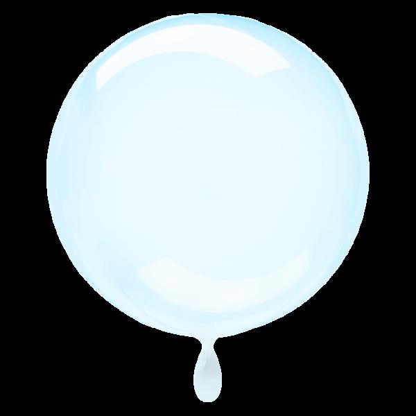 1 Ballon XL - Clearz - Blau