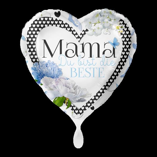 1 Ballon - Mama Du bist die Beste